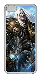 iPhone 5C Case, iPhone 5C Cases - Anti-Scratch Crystal Clear Hard Back Case for iPhone 5C Wow World Of Warcraft Shock-Absorption Hard Back Bumper Case for iPhone 5C