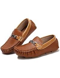 Kids Loafer Moccasin Oxford Driver Shoes(Toddler/Little Kid/Big Kid)