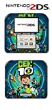 Ben 10 Reboot Ten 2016 Cartoon Tennyson Video Game Vinyl Decal Skin Sticker Cover for Nintendo 2DS System Console