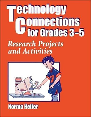 Technology Connections for Grades 3-5: Research Projects and Activities by Norma Heller (1998-08-15)