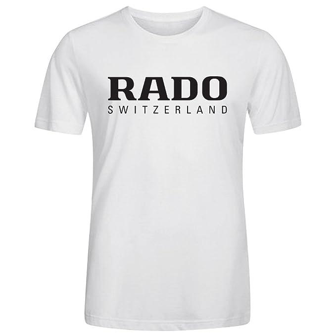 DG Lifestyle T-Shirt SS Crew Funny Tee - Camiseta / Camisa de Rado Watch - Las mejores marcas de relojes de los para Hombre Blanco: Amazon.es: Ropa y ...