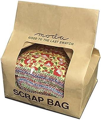 Food Fabric Scrap Bag 1//2 Pound Cotton Fabric Scraps