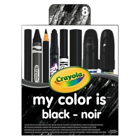Crayola My Color is Black