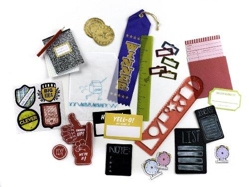 K&CompanySmash Scrapbook Grab Bag, School