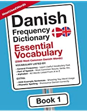 Danish Frequency Dictionary - Essential Vocabulary: 2500 Most Common Danish Words