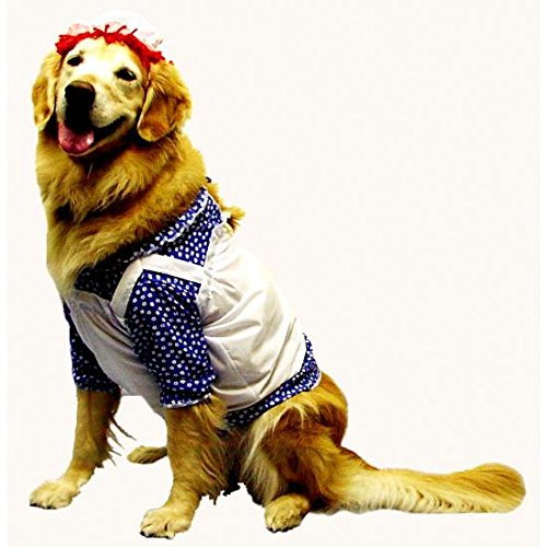 Morris Costumes - Raggedy Ann Dog Costume - Large -