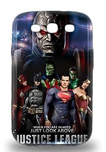 Popular Galaxy New Style Durable Galaxy S3 3D PC Case American Justice League ( Custom Picture iPhone 6, iPhone 6 PLUS, iPhone 5, iPhone 5S, iPhone 5C, iPhone 4, iPhone 4S,Galaxy S6,Galaxy S5,Galaxy S4,Galaxy S3,Note 3,iPad Mini-Mini 2,iPad Air )