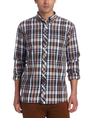 Fred Perry Men's Homespun Madras Shirt