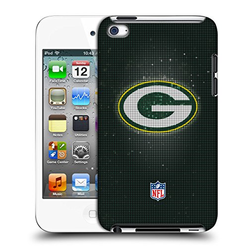 Official NFL LED 2017/18 Green Bay Packers Hard Back Case for Apple iPod Touch 4G 4th Gen