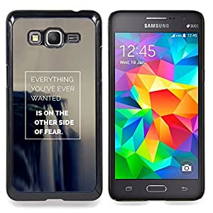 Eason Shop / Premium SLIM PC / Aliminium Casa Carcasa Funda Case Bandera Cover - El éxito del cartel Make It - For Samsung Galaxy Grand Prime G530H / DS