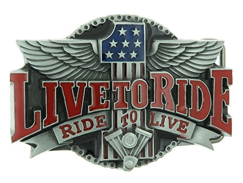 motorcycle belt buckle - 5