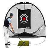 Galileo 8'x7'x7' golf Hitting Net/golf net/Tri-poled shape golf net/Practice Driving Indoor and Outdoor