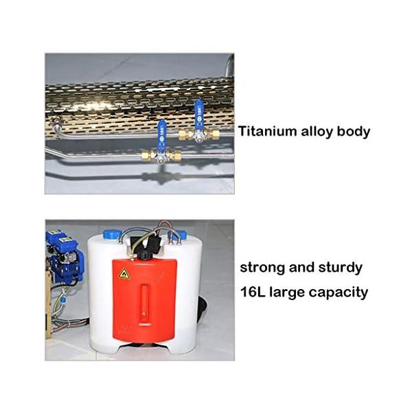 XLOO Atomizzatore a Spalla Professionale, Corpo in Lega di Titanio, Forte e Robusto, Facile da trasportare, diserbo… 6 spesavip