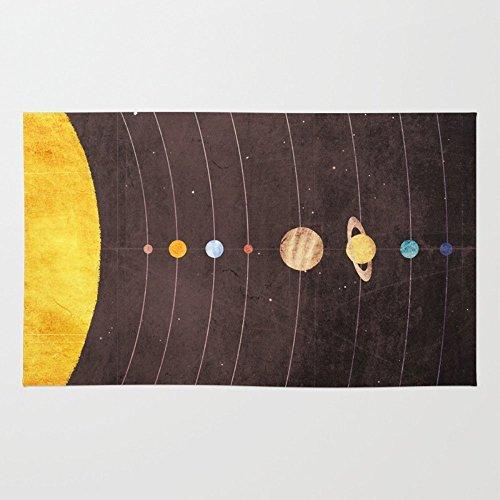 Society6 Solar System Rug 4' x 6' by Society6