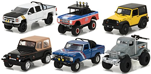 NEW 1:64 GREENLIGHT ALL-TERRAIN SERIES 5 ASSORTMENT Diecast