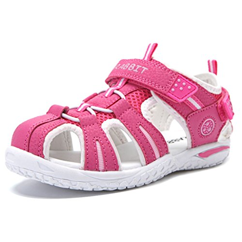 Price comparison product image Boy's Girl's Outdoor Athletic Strap Breathable Closed-Toe Water Athletic Beach Sandals(Toddler/Little Kid/Big Kid)