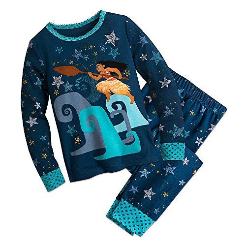 Disney Moana PJ PALS Pajamas Size 10