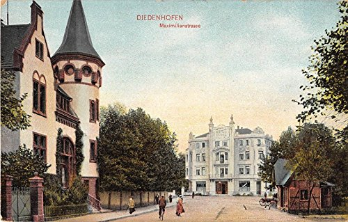 Diedenhofen Germany View of Hotel And Other Buildings Antique Postcard V17367