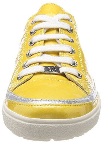 Caprice Damen 23654 Derbys Gelb (Yellow Napl Mud 611)