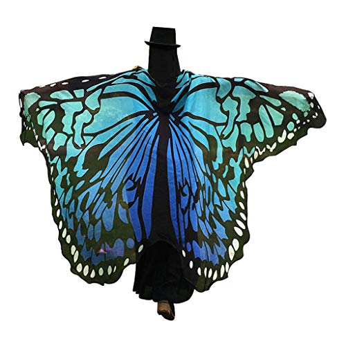 GRACIN Halloween Butterfly Wings Shawl Soft Fabric Fairy Pixie Costume Accessory (78