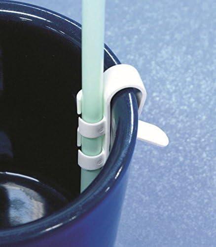 ストロークリップ 10個入り(コップなどのふちにストローを固定するクリップ)