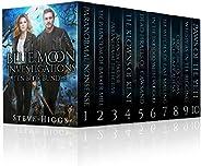 Blue Moon Investigations Ten Book Bundle: A Humorous Fantasy Adventure Series (Blue Moon Investigations - The