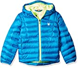 Spyder Boys Dolomite Synthetic Down Jacket, Concept Blue/Bryte Green, Large