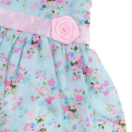 Sharplace 18inch Cute Dolls Party Dresses w/ Flowers Decoration for American Girl Doll Outfit Clothing: Amazon.co.uk: Toys & Games