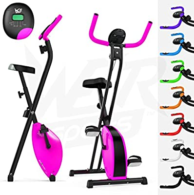 We R Sports Plegable Magnético Ejercicio Bicicleta X-Bike Aptitud ...