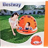 Bestway Inflatable Sun Shade Baby Pool On Backyard Or Beach