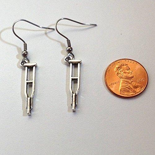 Amazon.com: Crutch earrings - orthopedics tech - orthopedic ...