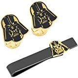 Darth Vader Canto Bight Cufflinks Lapel Pin and Cufflinks Gift Set, Star Wars, Officially Licensed