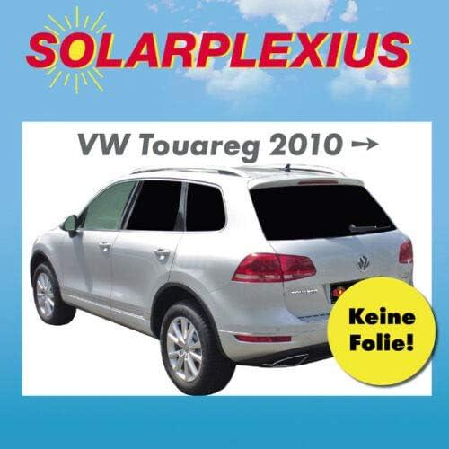 10-18 Solarplexius Sonnenschutz Autosonnenschutz Scheibent/önung Sonnenschutzfolie Touareg II Bj