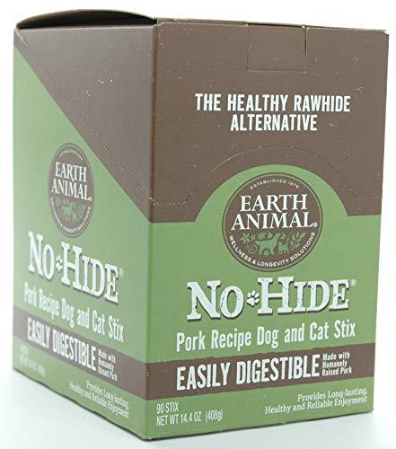Earth Animal No-Hide Pork Stix 90 Count Value Box