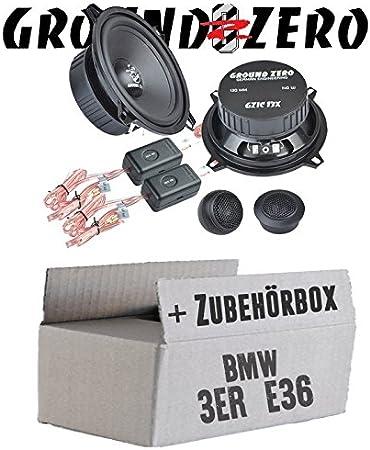 Ground Zero Gzic 13x Kompo 13cm Lautsprecher System Einbauset Für Bmw 3er E36 Front Just Sound Best Choice For Caraudio Navigation
