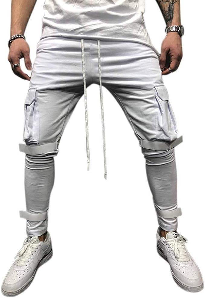 Jogging para Hombre Pants Pantalones Deportivos Hombres Joggers ...