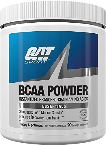 Gat BCAA Powder Nutritional Supplement, 250 Gram