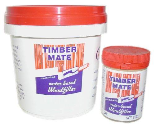 Timbermate Australian CypressTeak Hardwood Wood Filler 8oz Jar