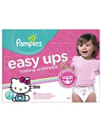 Pampers Easy Ups Training Underwear Girls 2T-3T (Size 4), 80 Count -- Packaging May Vary BOBEBE Online Baby Store From New York to Miami and Los Angeles
