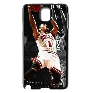Custom Bulls Derrick Rose Samsung Galaxy Note 3 Hard Case Cover phone Cases Covers hjbrhga1544