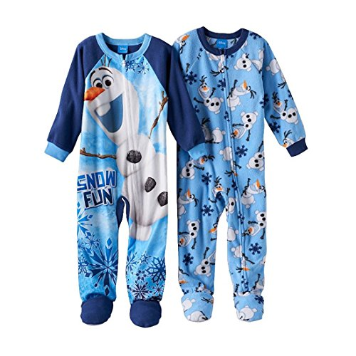 Disney Frozen Little Footed Pajamas