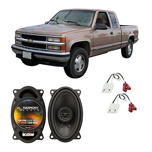 Pickup Chevy 1991 (Fits Chevy CK Pickup 1988-1994 Front Dash Factory Replacement HA-R46 Speakers New)