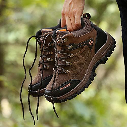 Unisex Per Impermeabili Escursione Esterni Uomo n Donna Brown Arrampicata Casual Trekking Passeggio Scarpe Traspiranti Da ZwqIY1gS