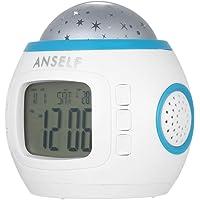 Anself H4962 - Reloj despertador para niños
