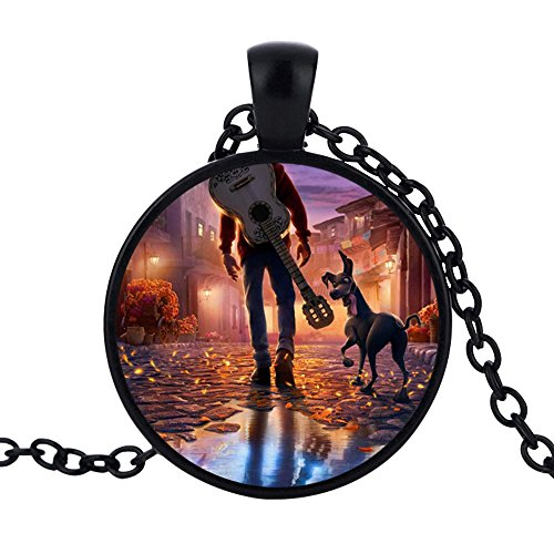 Coco Miguel Necklace Day of The Dead Pendant Costume (Day Of The Dead Toddler Costumes)
