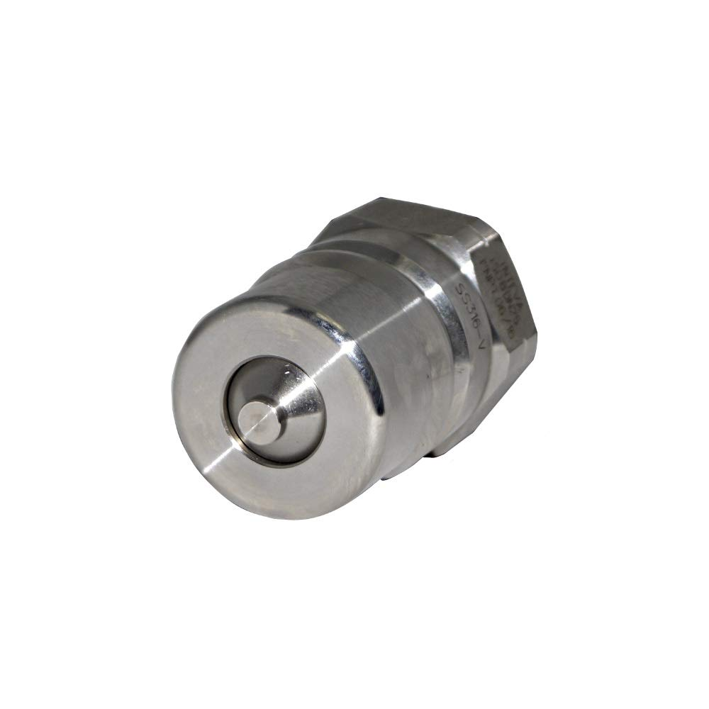 SSH3-63Y-INTEVA Stainless Steel 316 ISO B Quick Coupling Male 260 BAR, 3/8''NPT