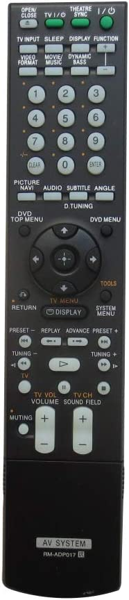 New General Remote Control Fit for RM-ADP010 DAV-FX500 DAV-FX900W HCD-FX500 HCD-FX900W RM-ADP013 RM-ADP015 for Sony AV System