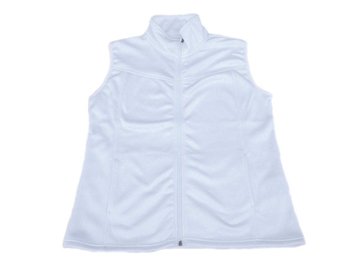 The Weather Apparel Co Poly Flex Golf Vest 2017 Womens White X-Small