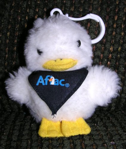 small-plush-talking-aflac-duck-attachable-clip-on-doll