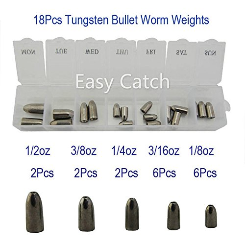 若者の大愛商品 釣りタングステンネイルウェイトSinker Pagoda鉛筆Sinker Wacky Bullet Flipping SinkerタングステンWorm挿入釣り重量 B01H6YQ5TC Wacky B01H6YQ5TC 1 18Pcs-Worm Weight Sinker Kit 1, トーモンスポーツ:8d2c397c --- a0267596.xsph.ru